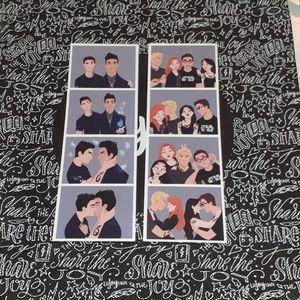 Photo Strip bookmarks/prints